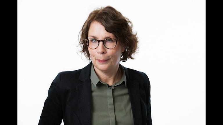 Nina Glans, kanalansvarig för P1 Foto: Mattias Ahlm/Sveriges Radio