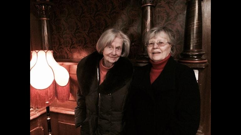 Inga Landgré och Harriet Andersson Foto: Lisa Bergström/Sveriges Radio