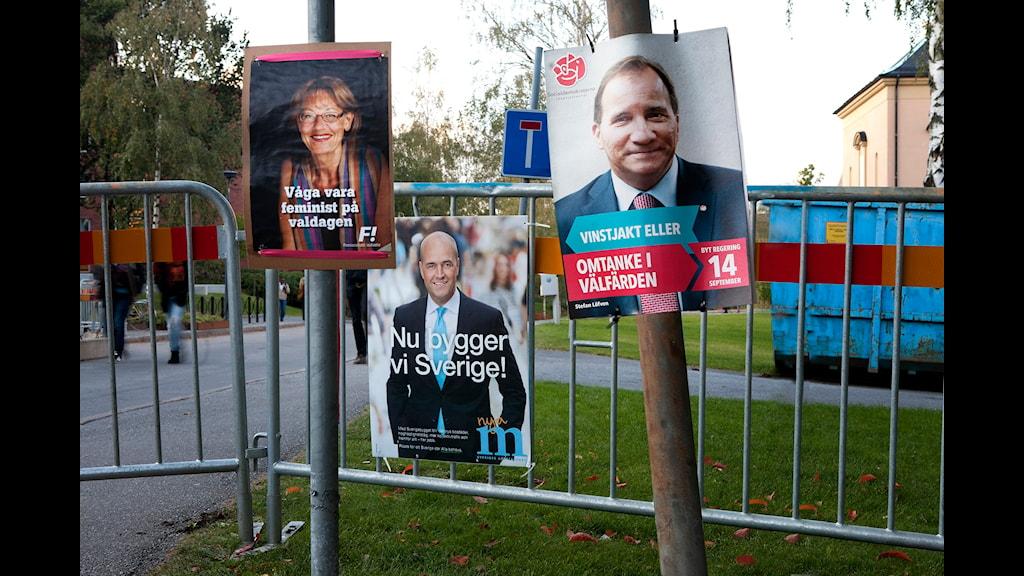 Min granne, partiledaren. Foto: Måns Mosesson/Sveriges Radio