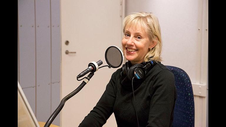 Lotta Malmstedt. Foto: Micke Grönberg/Sveriges Radio