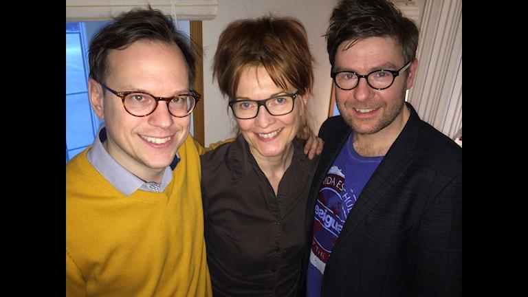 Thomas Deutgen, Anne-Lie Rydé och Thomas Lundin. Foto: Maths Källkvist/Massa Media.