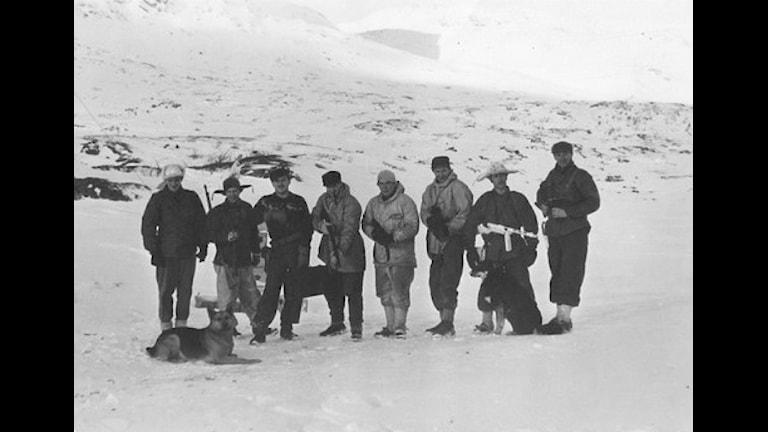 Sepals soldater. Foto: Privat samling.