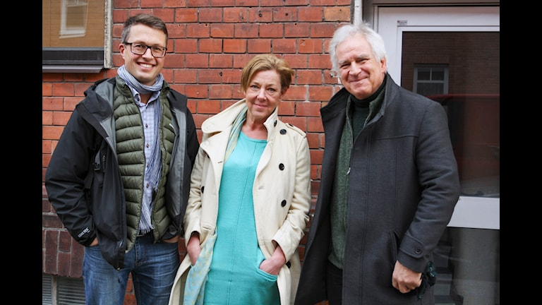 Daniel Hjorth, Jeanette Emt och Peter Gärdenfors. Foto: Peter Bjuhr