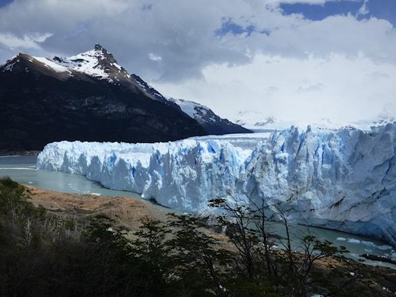 Perito Moreno, glaciär Foto: Lasse Willén/Sveriges Radio
