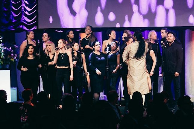 Tensta Gospel Choir. Foto: David Thunander