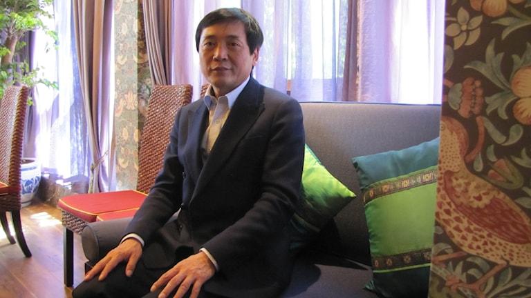 Cao Wenxuan. Foto: Ylva Mårtens/Sveriges Radio