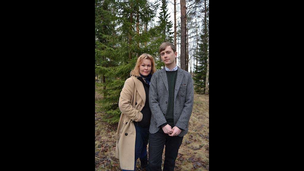 Programledare Erica Dahlgren och Olov Antonsson. Foto: Helena Andersson