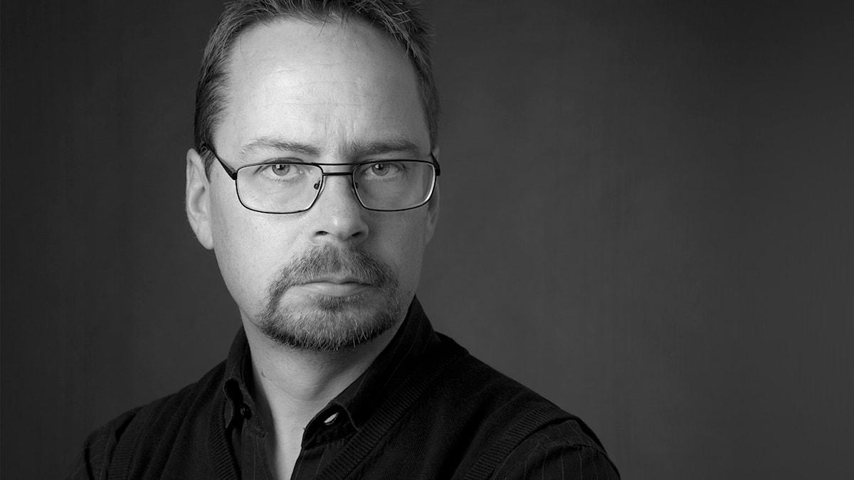 Micke Grönberg, bildredaktör och fotograf. Foto: Mattias Ahlm/Sveriges Radio