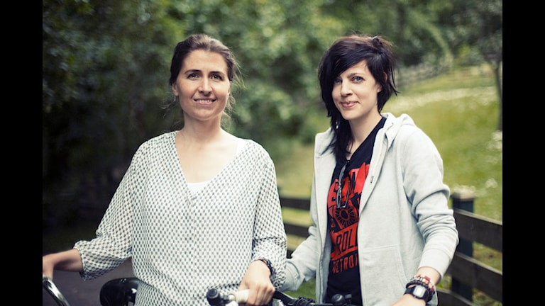 Lina E. Johansson och Maja Lagercrantz. Foto: Johanna Arnström