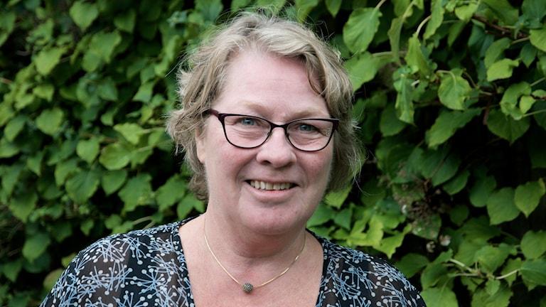 Gertrud Töörn Wennerberg blev som 60-åring uppsagd från jobbet som personalchef. Hon uppfattades som för gammal när hon skulle söka nytt jobb. Foto: Lars Mogensen/Sveriges Radio