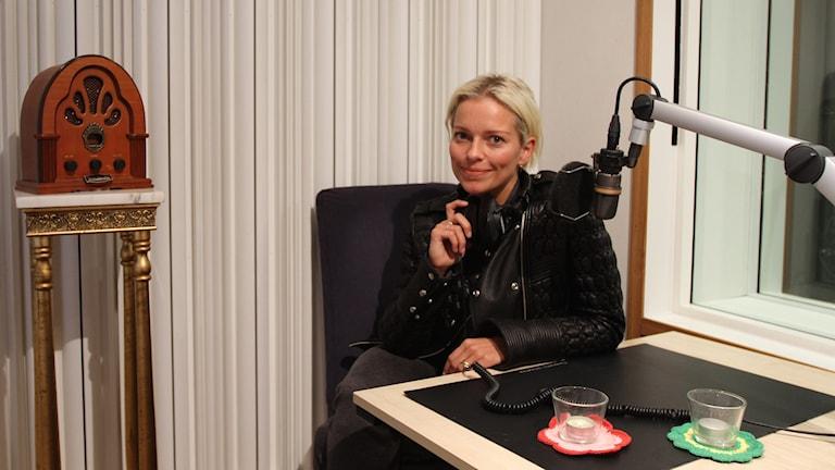Petra Marklund är gästredaktör i Musikguiden i P3. Foto: Karin Eller/Sveriges Radio