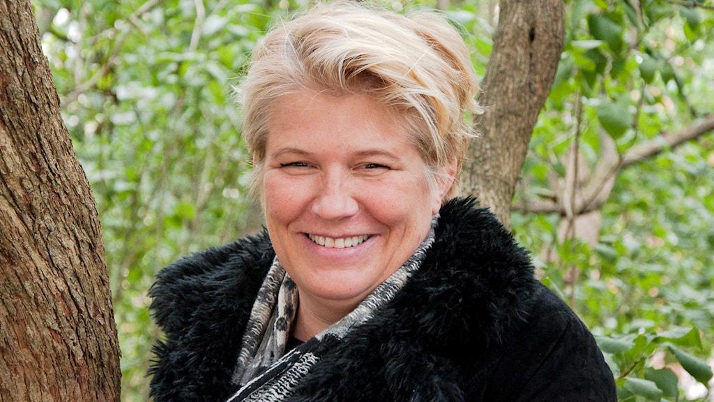 Camilla Lif, präst.Foto: Siri Ambjörnsson/Sveriges Radio