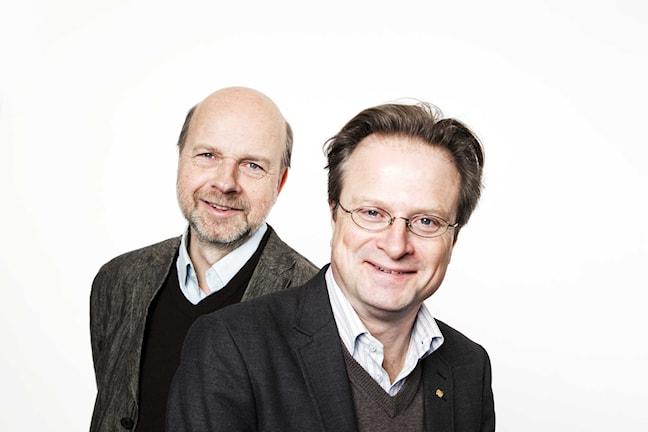 Danföredan med Gunnar Bolin och Karsten Thurfjell år 2009 Foto: Mattias Ahlm/Sveriges Radio