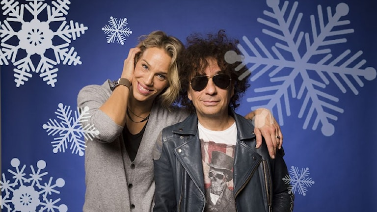 Emma Wiklund och Magnus Uggla. Foto: Mattias Ahlm/Sveriges Radio