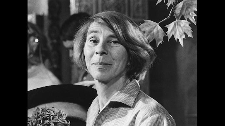 Författaren Tove Jansson. Foto: Kenneth Thorén.
