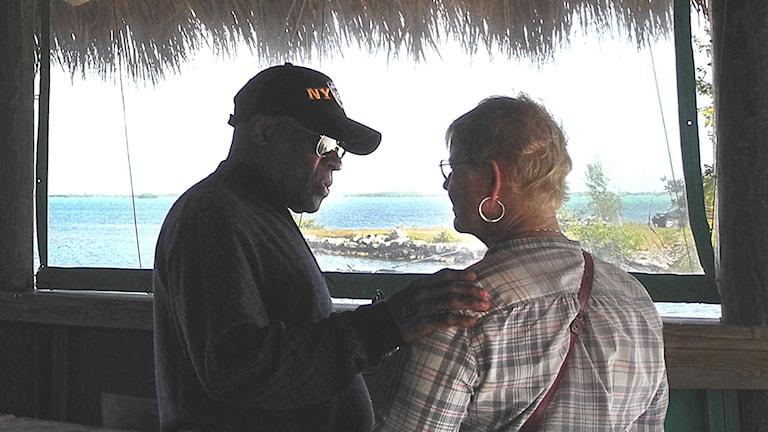 Elisabeth & Eduardo i Key West. Foto: Kristina Gellerstedt
