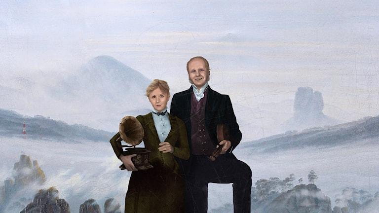 Esmeralda Moberg och Mattias Lundberg. Bild: Simon Lundgren