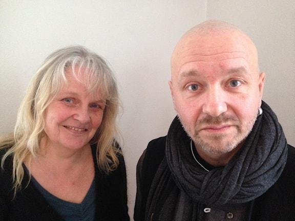 Maria Küchen och Kent Wisti. Foto: Agneta Nordin/Sveriges Radio