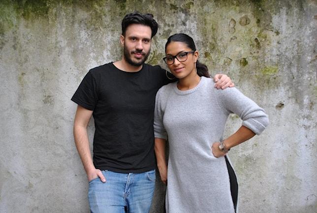 Dejan Cokorilo och Linda Pira. Foto: Anders Olsson