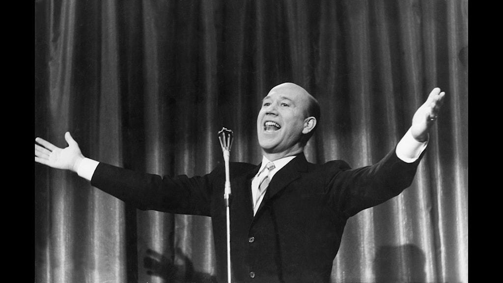 Lennart Hyland i Stora famnen 1959