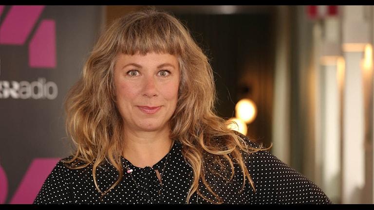 Stina Wollter. Foto: Åsa Stöckel/Sveriges Radio