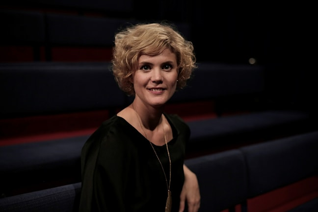 Amanda Glans har gjort dokumentärer för Barnradion på temat Min flykt. Fotograf: Milja Rossi.