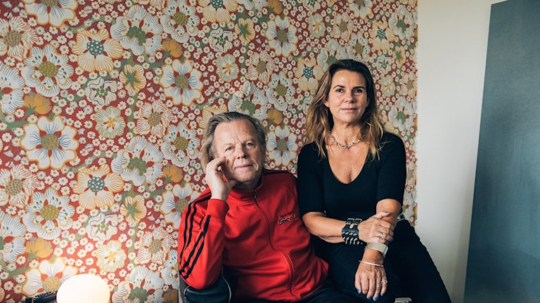 Krister Henriksson och Katarina Hahr.