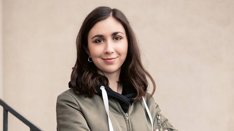 Effie Karabuda, P3:s nya spelreporter.