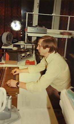 Radio Skaraborg kl. 06 den 31 oktober 1977