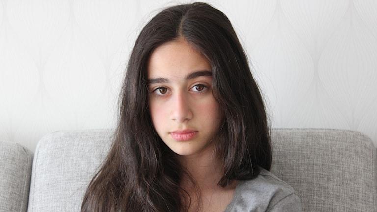 Lorin Berwari spelar Fadilah i Jag gråter bara med ena ögat.
