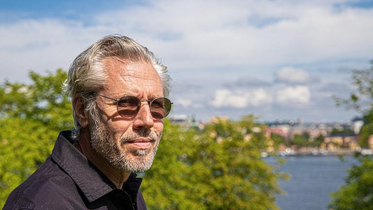 Författaren Carl-Johan Vallgren