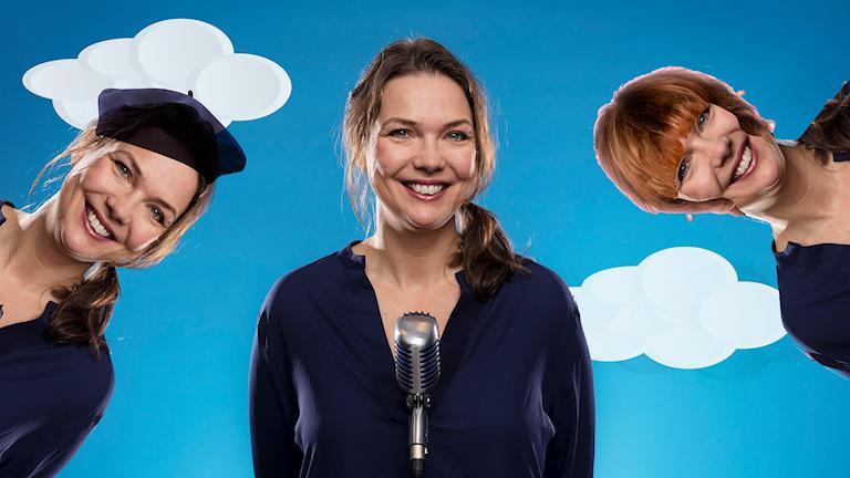 Anna Blomberg, bild: Pontus Bergman/Sveriges Radio