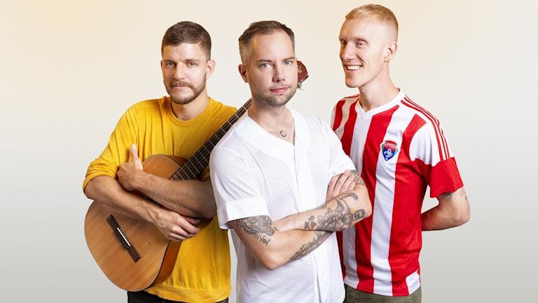 Rasmus Persson, Simon Hansson och Björn Nilsson har gjort en skräckmusikal för barn: Bobo & Gileus.