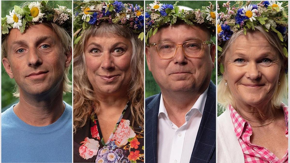 Anders Hansen, Stina Wollter, Magnus Ranstorp och Sissela Kyle.