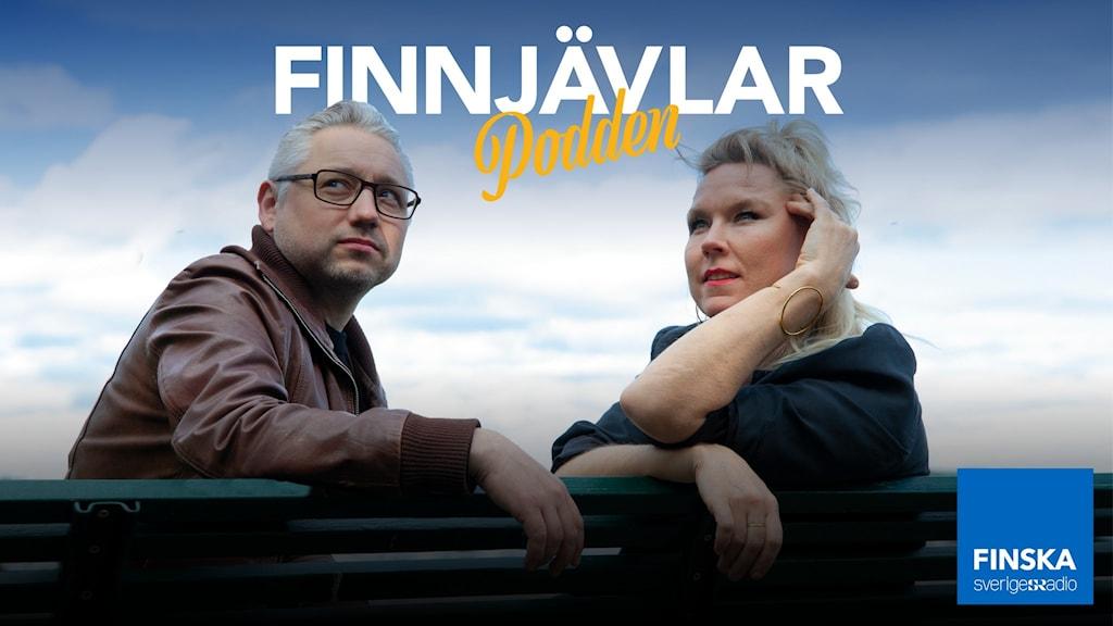 Finnjävlarpodden med Kristian Borg och Victoria Rixer