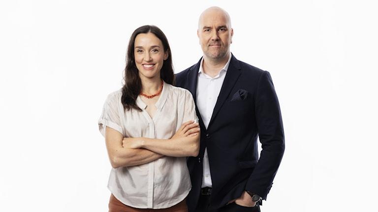 Hanna Sahlberg och Claes Aronsson