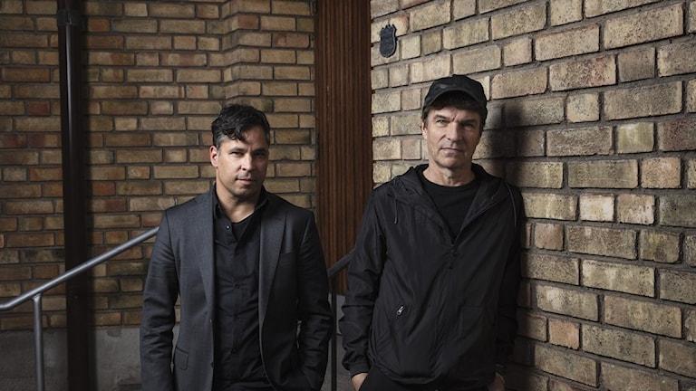 Martin Wicklin och Joakim Thåström