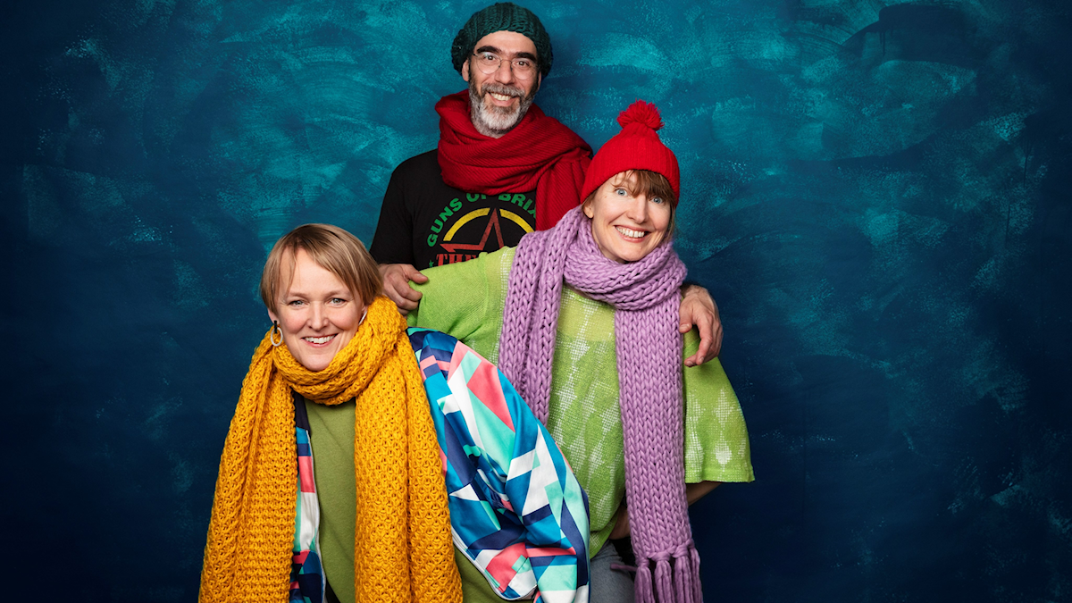 Biggest Bang: Maria Blom, regissör, Martin Olczak, författare och Anna Sandler, illustratör.