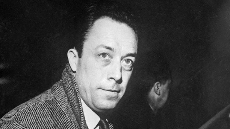 Författaren och Nobelpristagaren Albert Camus
