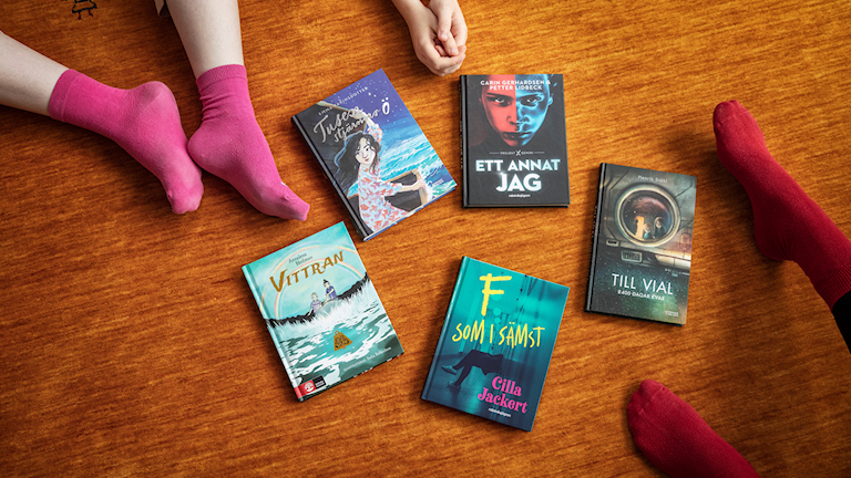 Barnradions bokpris 2019: Nominerade böcker.