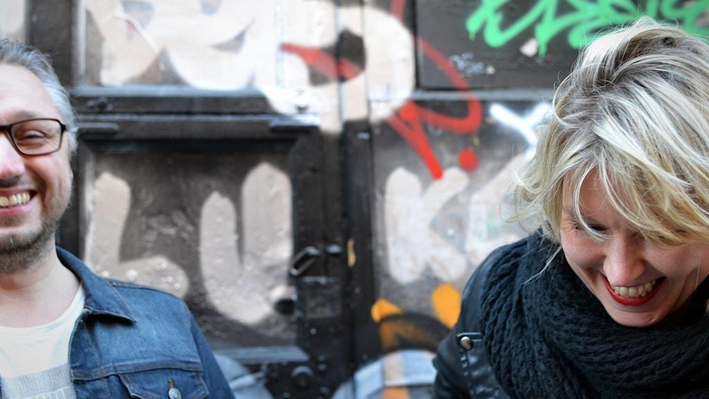 Finnjävlar-podden med Kristian Borg och Victoria Rixer.