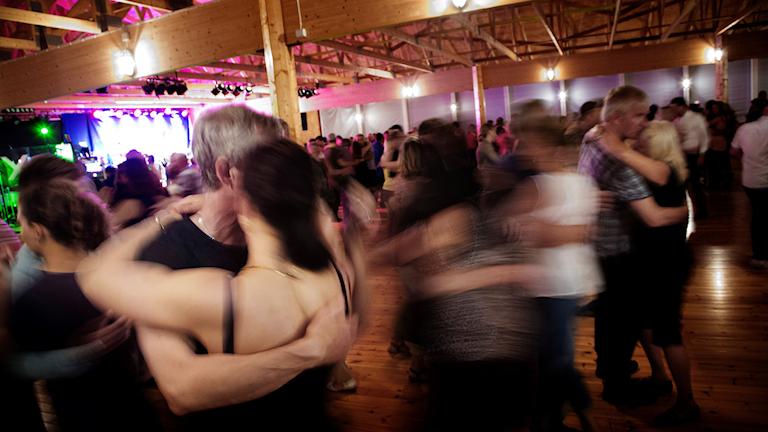Dansgolv på dansbandsveckan i Malung 2015