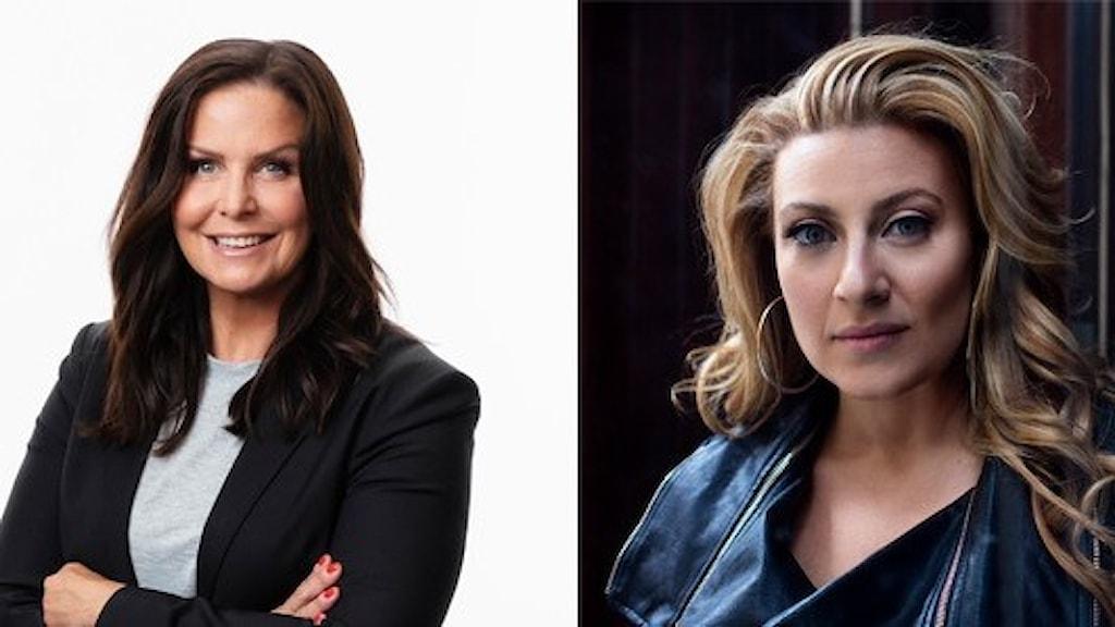Titti Schultz och Sarah Dawn Finer leder konserten Sjung med P4 för Världens Barn den 27 september kl. 14.00.
