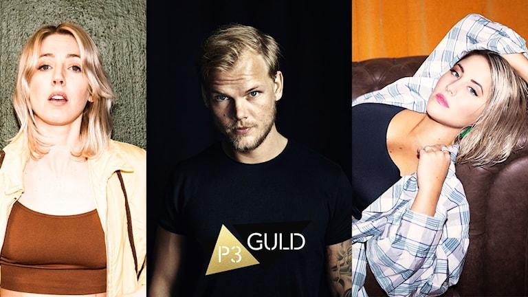 Veronica Maggio, Avicii och Molly Sandén är trefaldigt nominerade till P3 Guld