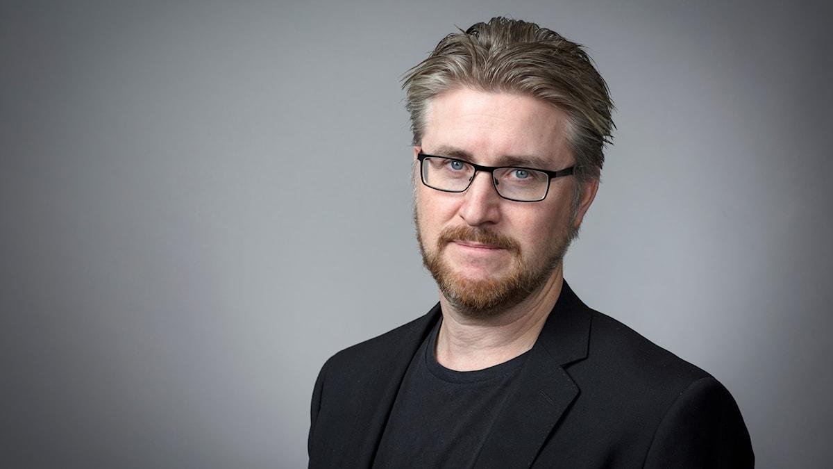 Claes Bertilson, presschef Sveriges Radio