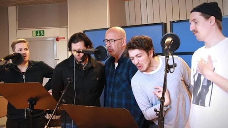 P4 Halland och Teater Halland inspelning av Stolthet och Fördom