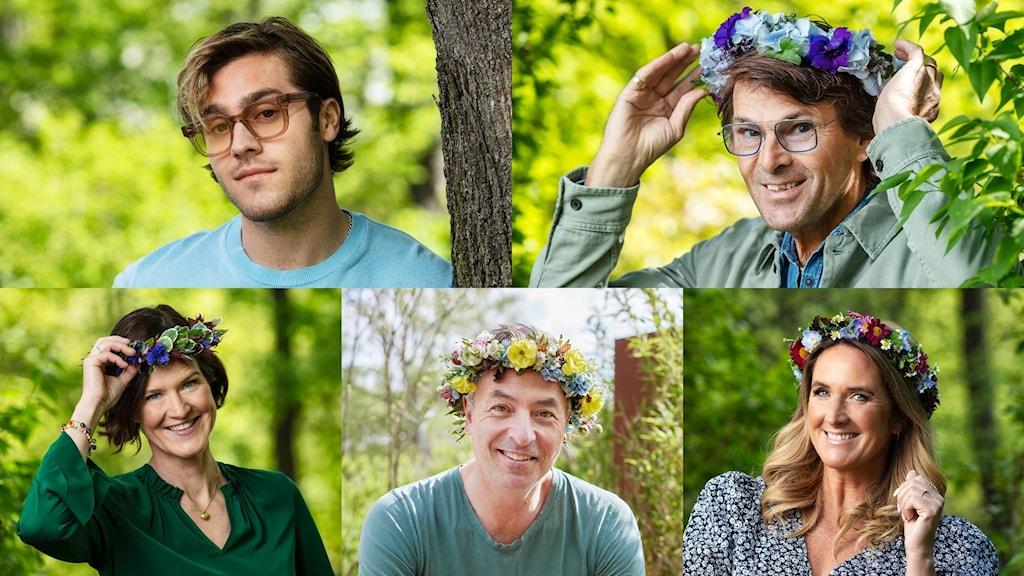 Benjamin Ingrosso, Niklas Strömstedt, Anna Kinberg Batra, Tareq Taylor, Denise Rudberg