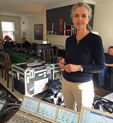 Inger Arenander. Foto: Victor Ubeira/Sveriges Radio