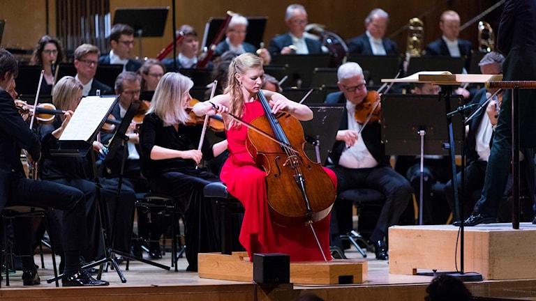 Amalie Stalheim, cello, vinnare av Solistpriset 2018.