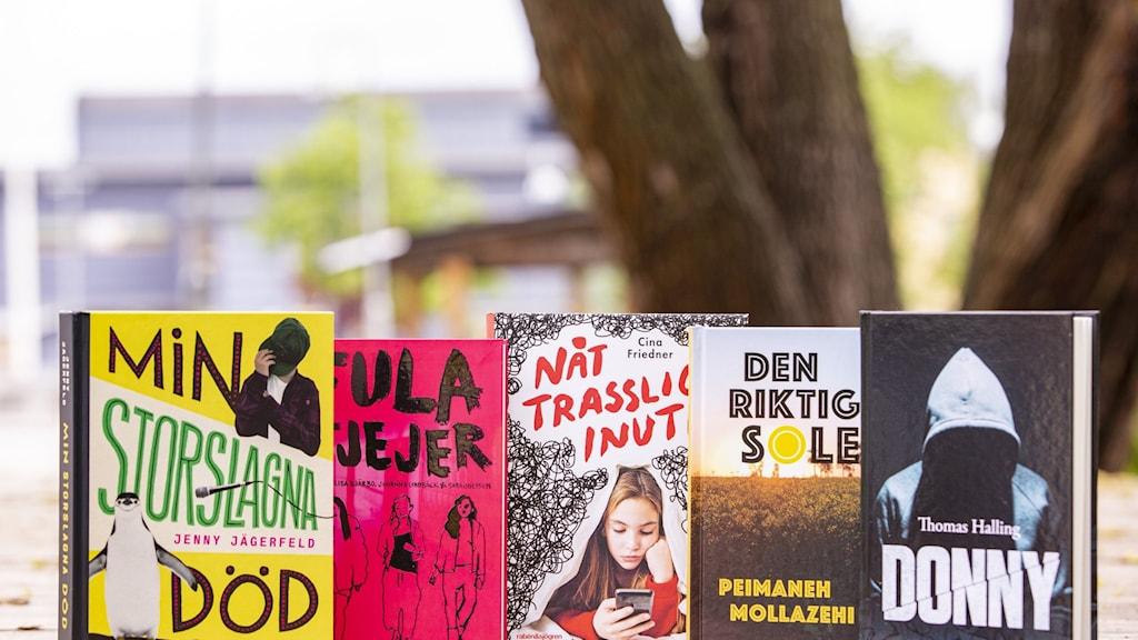 Barnradions bokpris, nominerade böcker 2021.